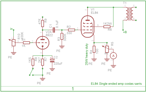 6cl6schematic in addition 22739 Power Trip A Guide To Power Tubes And Their Signature Sounds as well DIY Push Pull PP 6V6 Tube  lifier in addition Pushpull6550 together with 6l6. on 807 tube amplifier