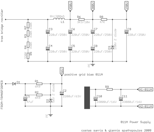 PSU-811A-schematic