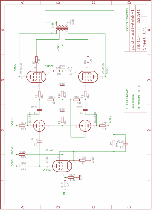 Vacuum Tube Audio  lifier Circuit Diagrams additionally Diy Guitar Tube   Schematics likewise Mcintosh Mx 110 Schematic also Schematic Automatic Gain Control additionally Tone Control Guitar Pedal Schematics. on tube pre lifier schematic diagram