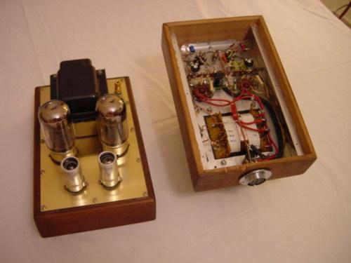 Push Pull 6550 monoblocks DIY project   Sarris Custom Tube ...