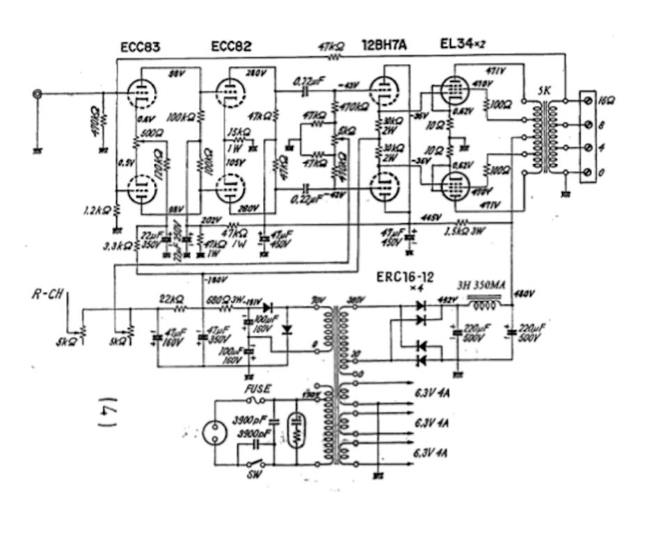 el34 tube amp schematics sarris custom tube amps rh sarris info vacuum tube amplifier diagram tube amp schematics marshall