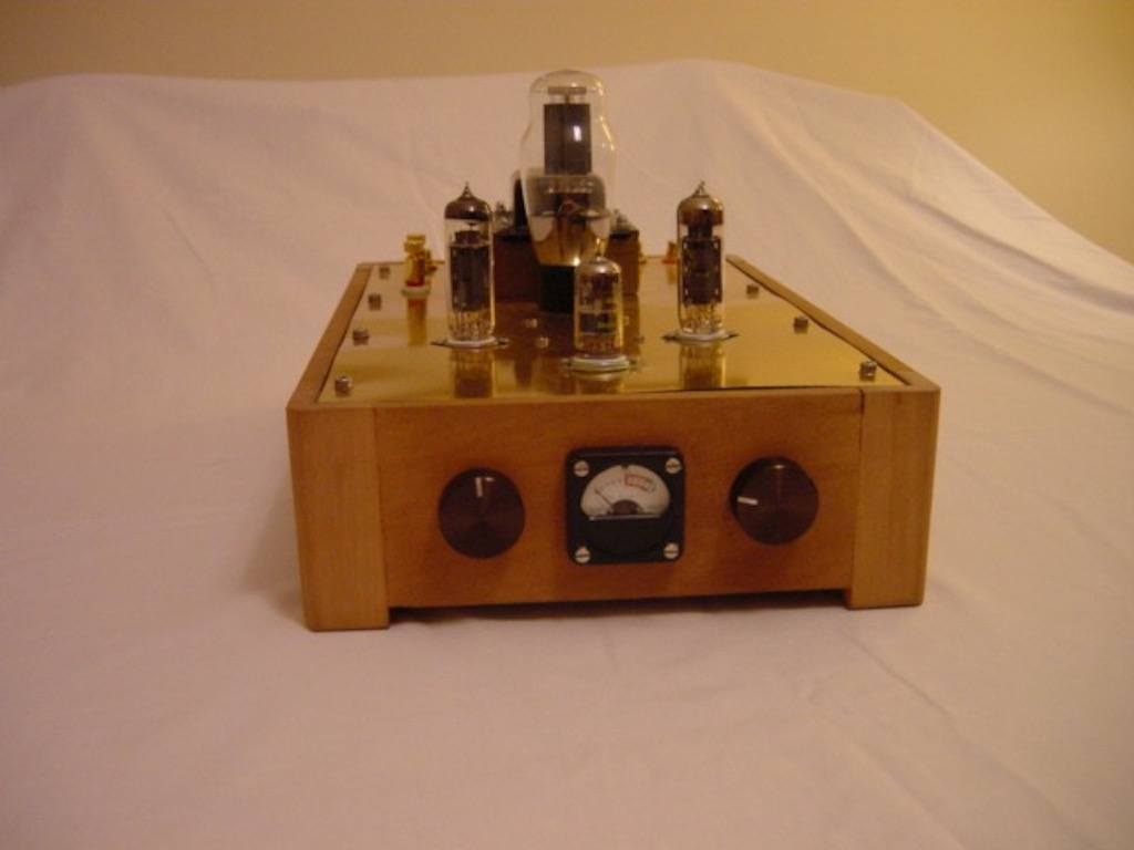 Set El84 Tube Amp Diy Project Sarris Custom Tube Amps