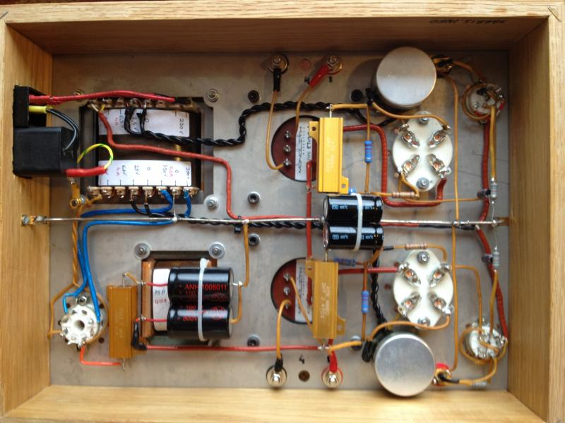 Universal Tube Pre lifier furthermore Viewtopic additionally Finished Tube Pre  Pcb Design Upgraded To Marantz M7 also Viewtopic moreover A Diy Valve Overdrive Pedal Goldie. on 12ax7 amplifier circuit