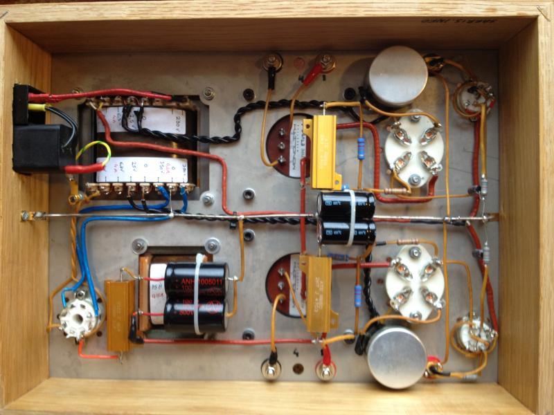 2a3 tube amp tube amps diy. Black Bedroom Furniture Sets. Home Design Ideas