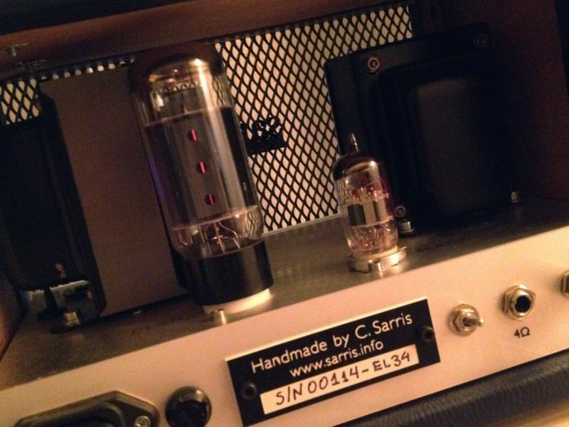 EL34 guitar amp