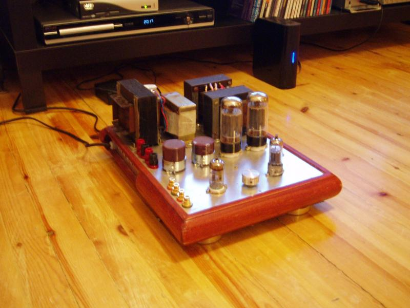 6L6 single ended tube amp
