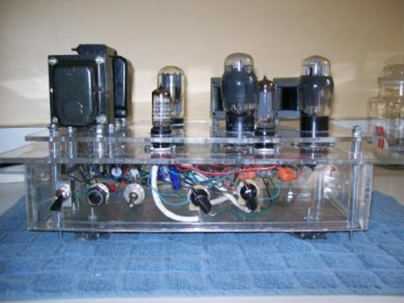 crystal set amp