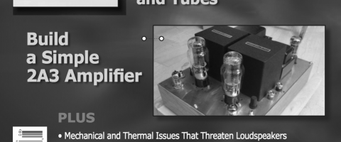 build a simple 2A3 amp